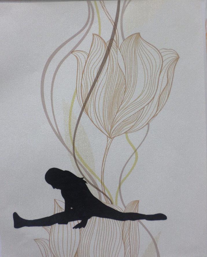 Autoritratti<br>DSP18<br><br>tecnica: collage da carte da parati<br>anno: 2015<br><br>DISPONIBILE