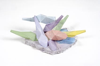 Strutture di cristallo<br>LC03<br><br>tecnica: sculture in resina atossica<br>anno: 2014<br><br>DISPONIBILE