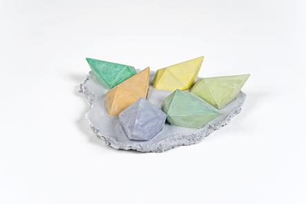 Strutture di cristallo<br>LC05<br><br>tecnica: sculture in resina atossica<br>anno: 2014<br><br>DISPONIBILE