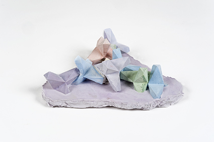 Strutture di cristallo<br>LC06<br><br>tecnica: sculture in resina atossica<br>anno: 2014<br><br>DISPONIBILE