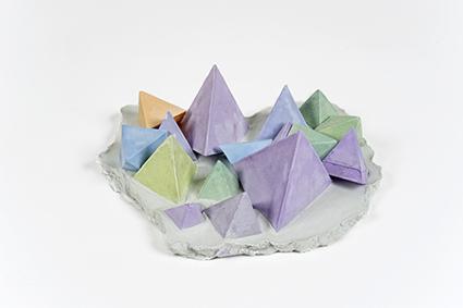 Strutture di cristallo<br>LC07<br><br>tecnica: sculture in resina atossica<br>anno: 2014<br><br>DISPONIBILE