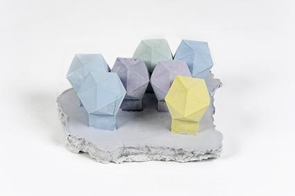 Strutture di cristallo<br>LC09<br><br>tecnica: sculture in resina atossica<br>anno: 2014<br><br>DISPONIBILE