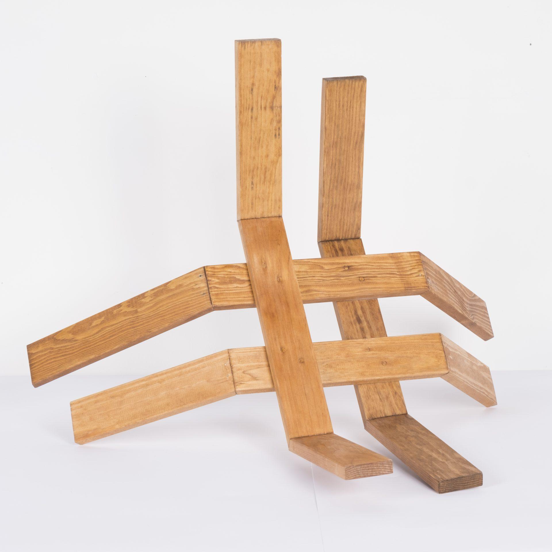 Unlimited in Dynamo<br>RMR16<br>misure: circa 50 x 50 cm<br>tecnica: legno <br>anno: 2018<br><br>DISPONIBILE