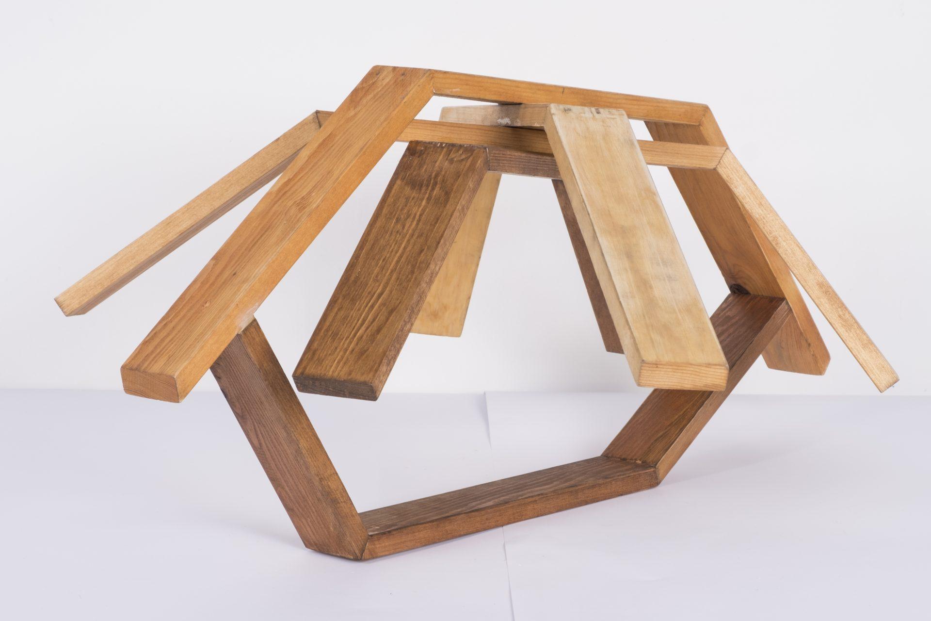 Unlimited in Dynamo<br>RMR17<br>misure: circa 50 x 50 cm<br>tecnica: legno <br>anno: 2018<br>