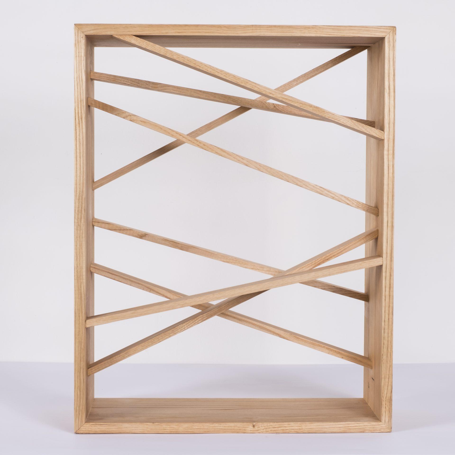 Unlimited in Dynamo<br>RMR22<br>misure: circa 44 x 56 cm<br>tecnica: legno castagno <br>anno: 2018<br>
