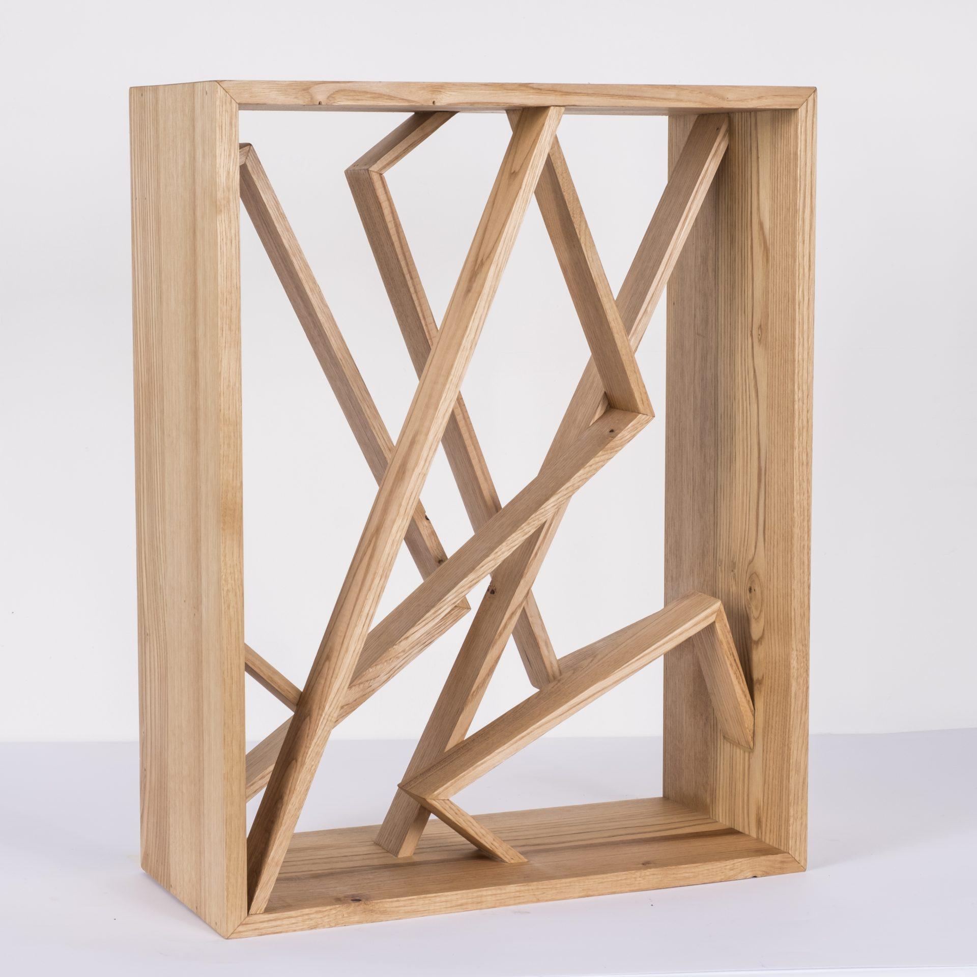 Unlimited in Dynamo<br>RMR24<br>misure: circa 44 x 56 cm<br>tecnica: legno castagno <br>anno: 2018<br>