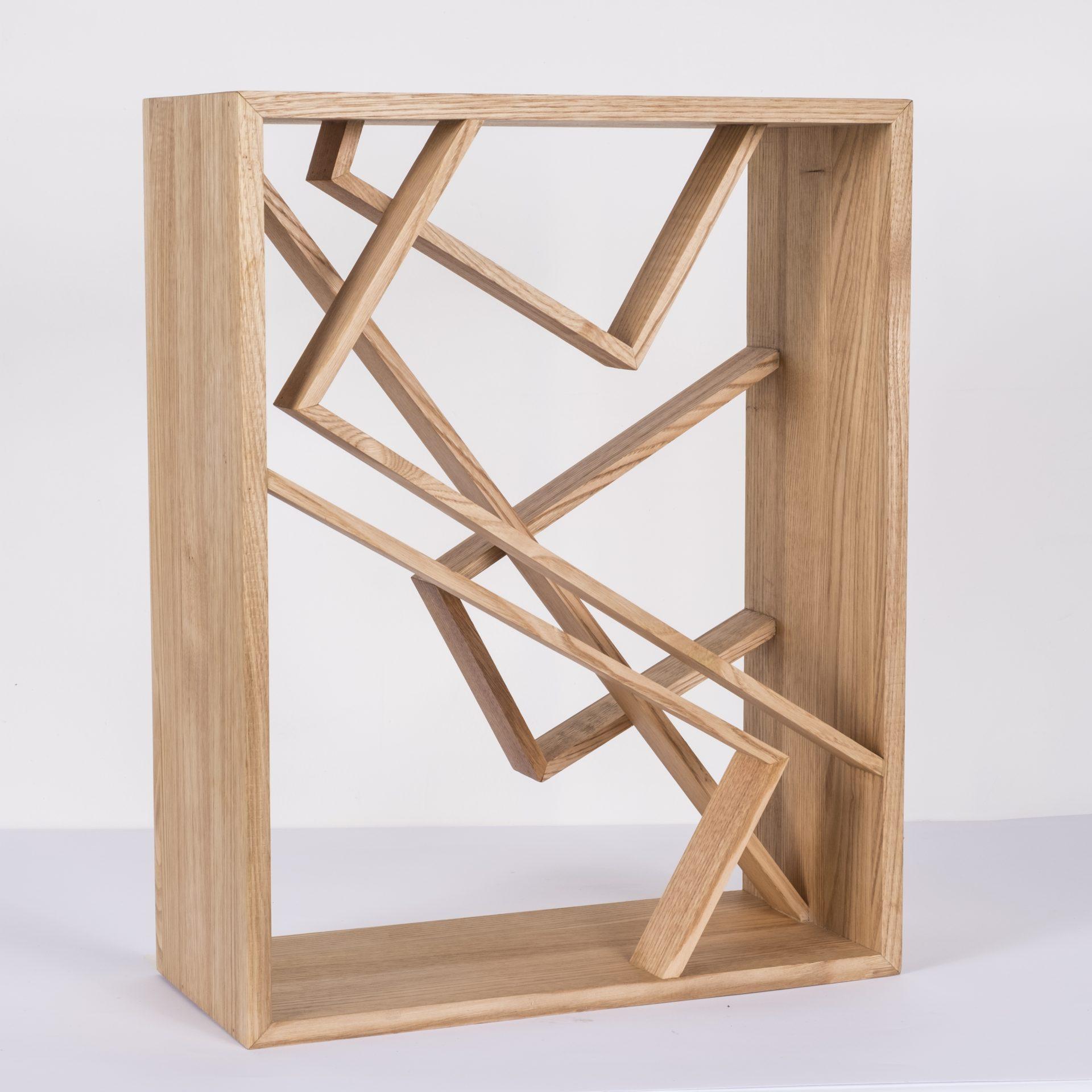 Unlimited in Dynamo<br>RMR26<br>misure: circa 44 x 56 cm<br>tecnica: legno castagno <br>anno: 2018<br>