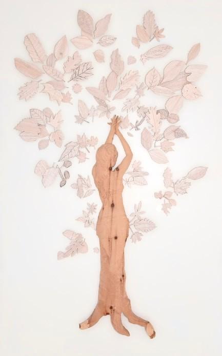 Immaginari<br>PDM07<br>misure: 140 x 220 cm<br>tecnica: scultura in legno<br>anno: 2015<br><br>DISPONIBILE