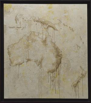 Oceania<br>CBB05<br>misure: 120 x 136 cm<br>tecnica: acrilico su tela<br>anno: 2016<br><br>DISPONIBILE