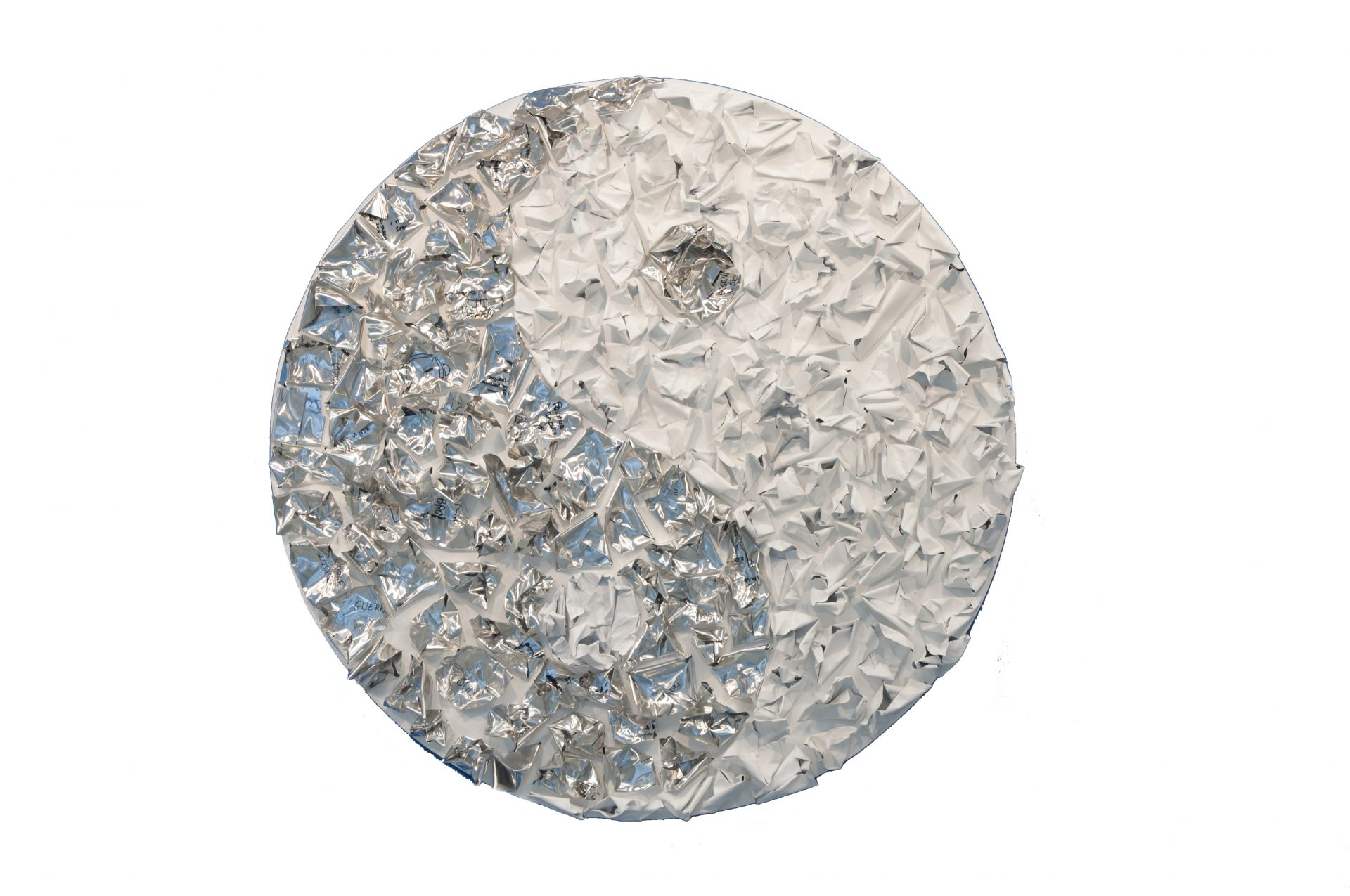 Il vento si perde a Dynamo<br>DSG06<br>misure: 158 x 148 cm<br>tecnica: acrilico su alluminio<br>anno: 2016<br><br>DISPONIBILE